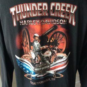 Harley Davidson Tshirt Men's XL | Freedom Rolls